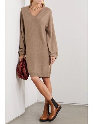 Loulou Studio gambier oversized cashmere mini dress