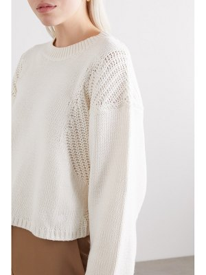 Loulou Studio huahine cotton and cashmere-blend sweater