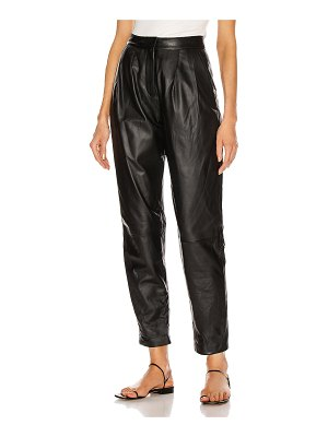 Loulou Studio palaos leather pant