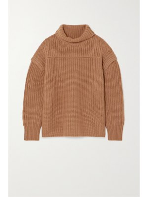 Loulou Studio parata ribbed wool and cashmere-blend turtleneck sweater
