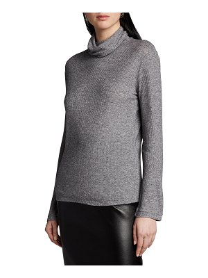 Loulou Studio Ribbed Turtleneck Sweater