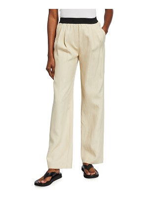 Loulou Studio Takaroa Pull-On Easy Pants