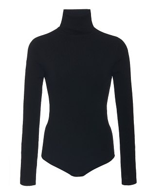 Loulou Studio wool and cashmere turtleneck bodysuit