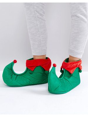 Loungeable Holidays Elf Slipper