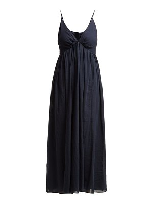LOUP CHARMANT adelaide cotton midi dress