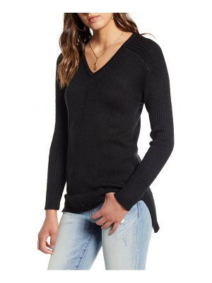 Love By Design v-neck tunic sweater