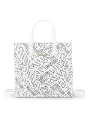 Love Moschino Embossed Logo Tote