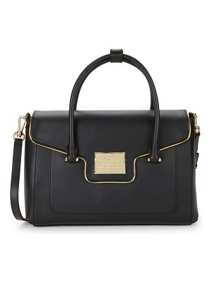 Love Moschino Faux Leather Satchel