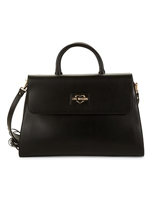Love Moschino Fringed-Strap Top Handle Bag