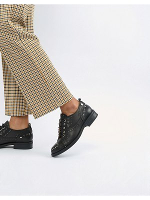 Love Moschino lace up flat brogues