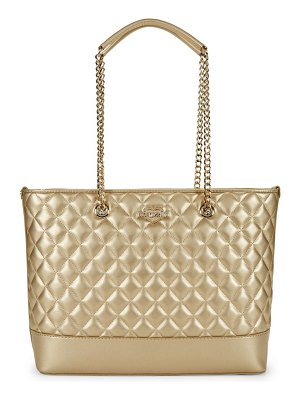 Love Moschino Quilted Chain Tote Shoulder Bag