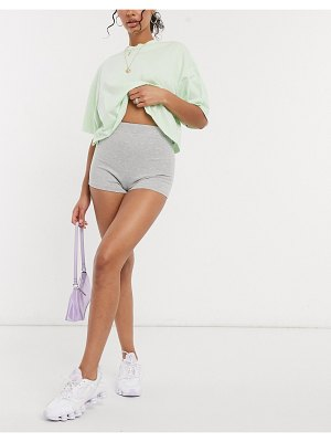 Love & Other Things two-piece shorts in gray