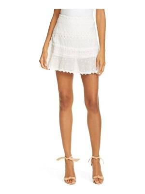 Love Sam embroidered miniskirt