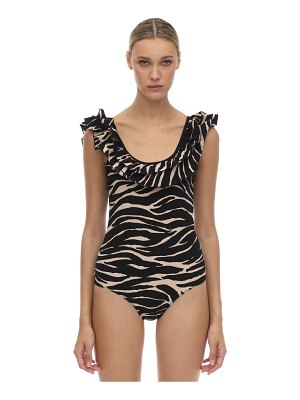 LOVE Stories Ruby zebra print lycra onepiece swimsuit