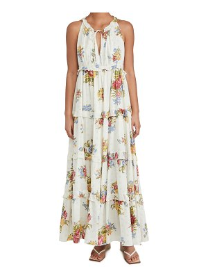 Love The Label tiered maxi dress