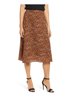 LOVEAPPELLA loveapella a-line midi skirt