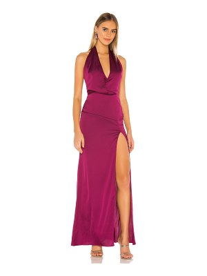 Lovers + Friends andrea gown