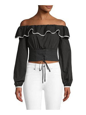 Lovers + Friends Bailey Off-The-Shoulder Top