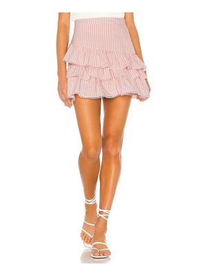 Lovers + Friends barbie mini skirt
