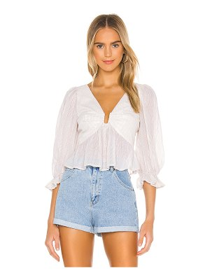Lovers + Friends bonnie top