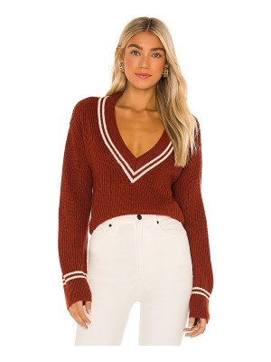 Lovers + Friends brianna v neck sweater