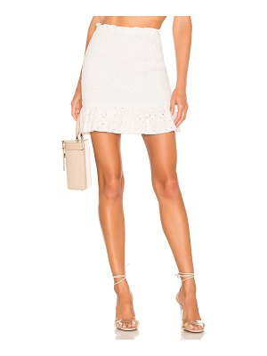 Lovers + Friends Cecile Mini Skirt