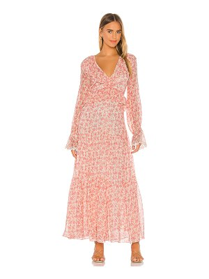 Lovers + Friends claire maxi dress