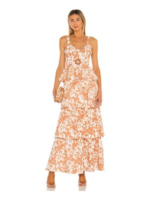Lovers + Friends corey maxi dress