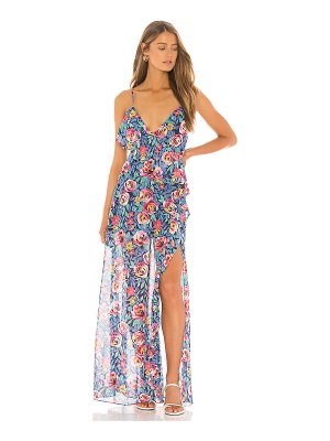 Lovers + Friends darcy maxi dress