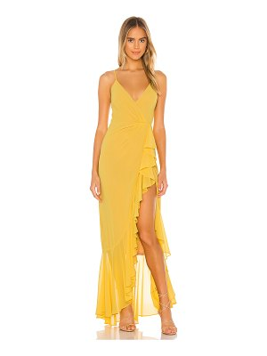 Lovers + Friends eyes on you maxi dress