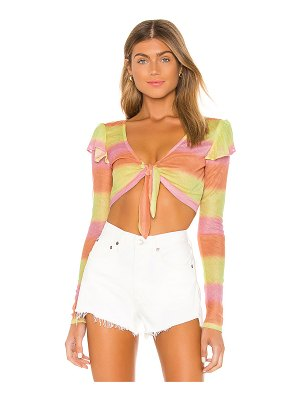 Lovers + Friends guava top