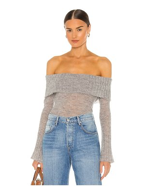 Lovers + Friends kyra off shoulder sweater