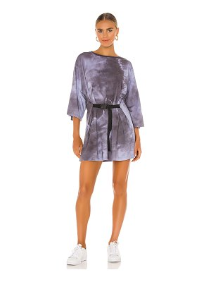 Lovers + Friends lily belted t-shirt dress
