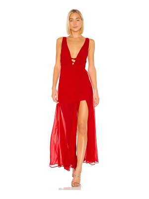 Lovers + Friends melina gown
