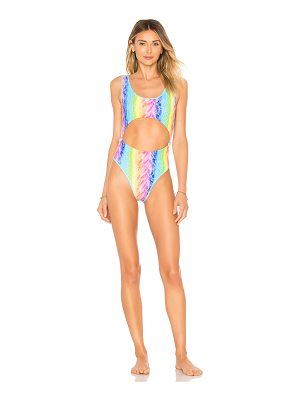 Lovers + Friends New Wave One Piece