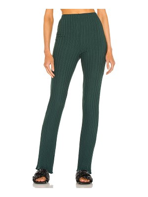 Lovers + Friends ribbed flare pant