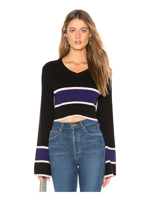 Lovers + Friends team cropped sweater