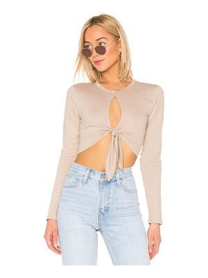 Lovers + Friends Tied Up Tee
