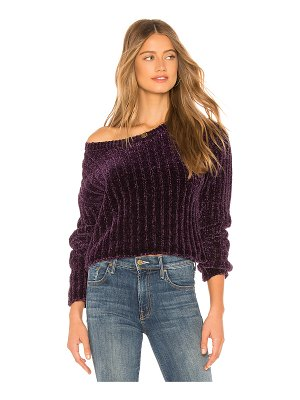 Lovers + Friends wells chenille sweater
