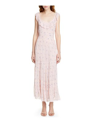 LOVESHACKFANCY joanne floral maxi dress