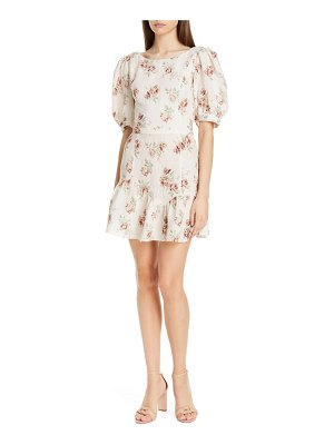LOVESHACKFANCY lena linen dress