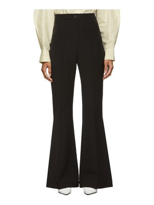 LOW CLASSIC black bootcut trousers