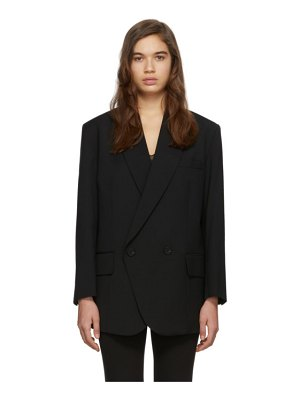 LOW CLASSIC black loose fit blazer