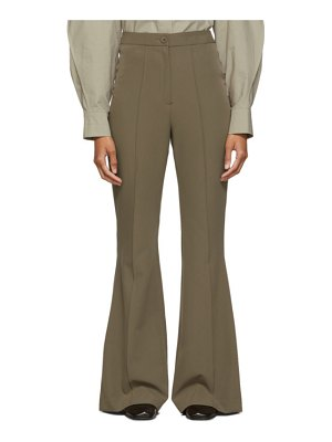 LOW CLASSIC brown bootcut trousers