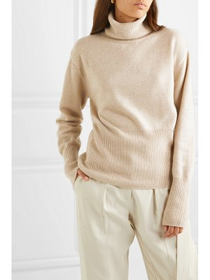 LOW CLASSIC embroidered knitted turtleneck sweater