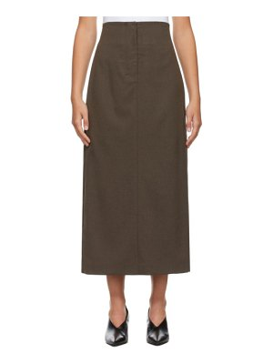 LOW CLASSIC h-line skirt