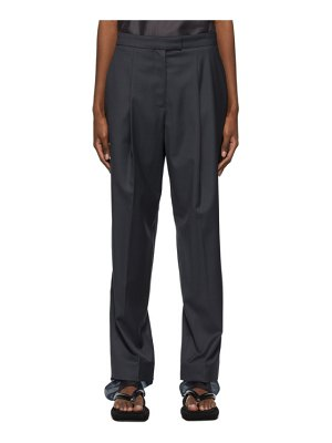 LOW CLASSIC layered trousers