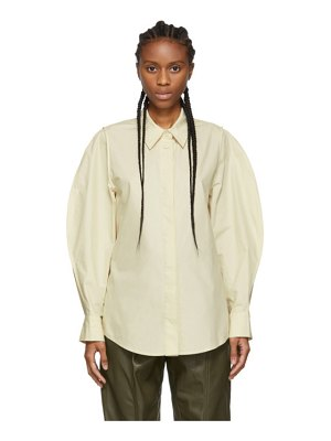 LOW CLASSIC off-white over sleeve shirt