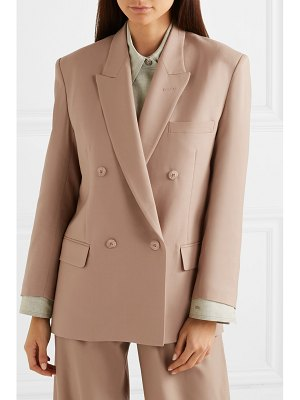 LOW CLASSIC oversized double-breasted wool blazer