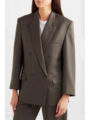 LOW CLASSIC oversized double-breasted wool-blend blazer